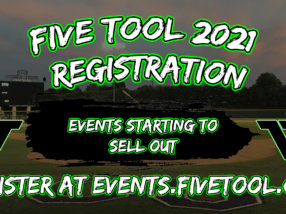 Five Tool Baseball 2021 Schedule