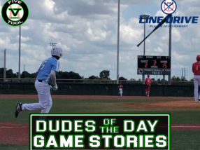 24 7 Line Drive Dudes of the Day/Game Stories: Five Tool Texas Houston Regional (Sunday, June 6)