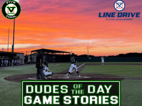 24 7 Line Drive Dudes of the Day/Game Stories: Five Tool Texas DFW Regional (Thursday, June 3)