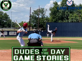 24 7 Line Drive Dudes of the Day/Game Stories: Five Tool Texas CTX Championships (Thursday, July 1)