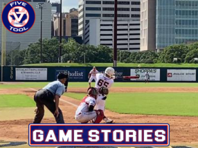 Game Stories: Five Tool Texas Houston College Championships (Thursday, July 1)
