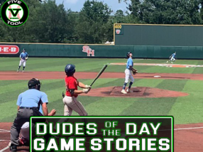 Dudes of the Day/Game Stories: Five Tool Texas 15U/16U Championships (Thursday, July 15)