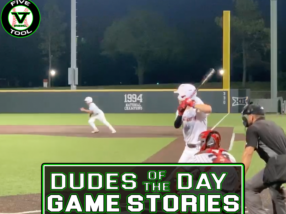 Dudes of the Day/Game Stories: Five Tool Oklahoma OKC Cup (Saturday, July 17)