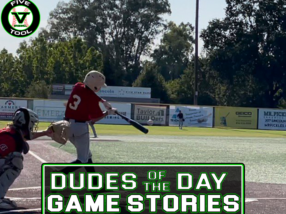 Dudes of the Day/Game Stories: Five Tool California Sacramento Show (Sunday, July 18)