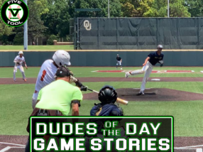 Dudes of the Day/Game Stories: Five Tool Oklahoma OKC Cup (Sunday, July 18)