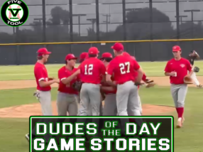 Dudes of the Day/Game Stories: Five Tool California San Diego Show (Thursday, July 22)