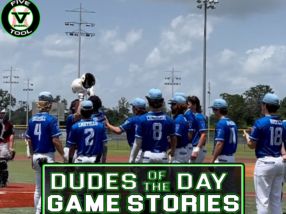 Dudes of the Day/Game Stories: Five Tool World Series (Saturday, July 24)