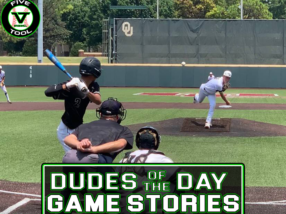 Dudes of the Day/Game Stories: Five Tool Oklahoma Finale (Thursday, July 29)