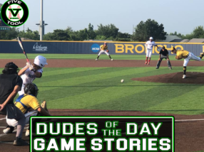 Dudes of the Day/Game Stories: Five Tool Oklahoma Finale (Friday, July 30)