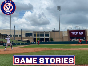 Game Stories: Five Tool Texas Houston College Championships (Sunday, July 4)