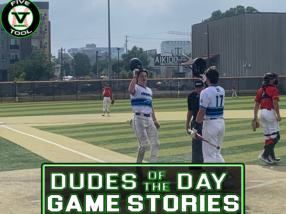 Dudes of the Day/Game Stories: Five Tool Colorado Denver World Series (Saturday, July 31)