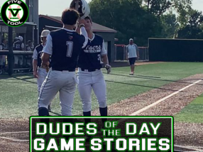 Dudes of the Day/Game Stories: Five Tool/NTX Tournaments Club Championships (Saturday, July 31)