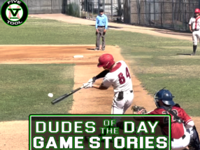 Dudes of the Day/Game Stories: Five Tool West World Series (Saturday, July 31-Wednesday, August 4)