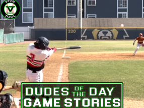 Dudes of the Day/Game Stories: Five Tool West World Series (Thursday, August 5)