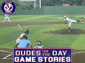 Dudes of the Day/Game Stories: Five Tool Texas DFW Fall Opener (Saturday, September 11-Sunday, September 12)