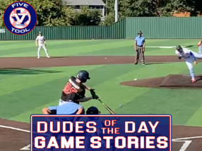 Dudes of the Day/Games Stories: Five Tool Texas DFW Fall Show (Saturday, Sept. 25-Sunday, Sept. 26)