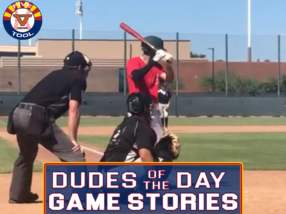 Dudes of the Day/Game Stories: Five Tool Arizona Phoenix Fall Show (Saturday, Sept. 25-Sunday, Sept. 26)