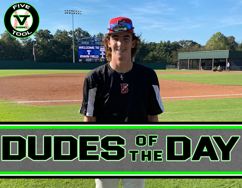 Kolby Killough, Dude of the Day, Oct. 9-10