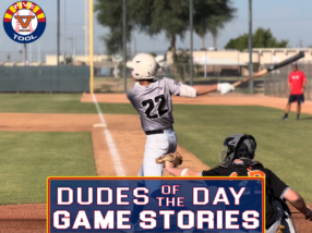 Dudes of the Day/Game Stories: Five Tool Arizona Phoenix Fall Classic (Friday, Oct. 1-Sunday, Oct. 3)