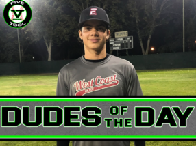 Diego Duarte, Dude of the Day, Oct. 9-10
