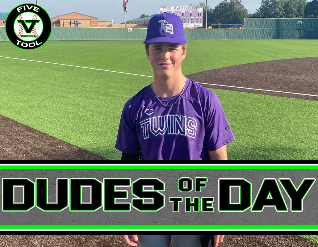 Dillon Henson, Dude of the Day, Oct. 9-10