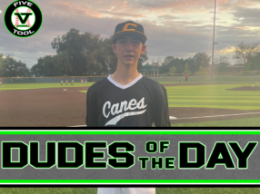 Ryder Armstrong, Dude of the Day, Oct. 2-3