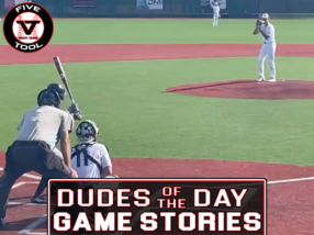 Dudes of the Day/Game Stories: Five Tool South Texas Fall Show (Saturday, Oct. 2-Sunday, Oct. 3)